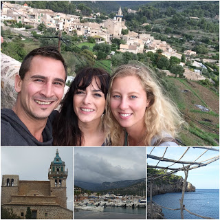 Valldemossa, Port de Soller and the beach Cala Deia in Mallorca