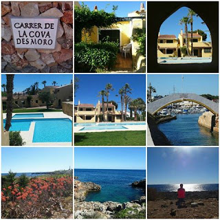 My apartment and walking around Cala en Bosch and Cap d' Artrutx, Menorca