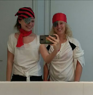 Pirates' day in the hotel