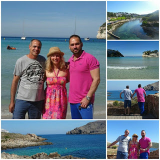 Cala Galdana and Fornells with the Cubans, Menorca