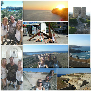 Trip around the island of Menorca