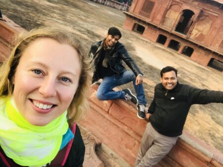 In the Red Fort