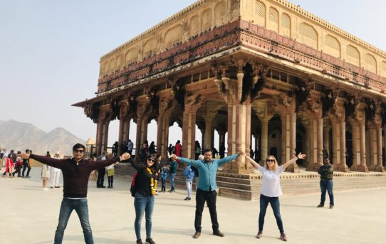 Together at Amer Fort